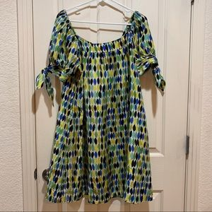 Anthropologie Nanette Lepore Silk Dress Size 6